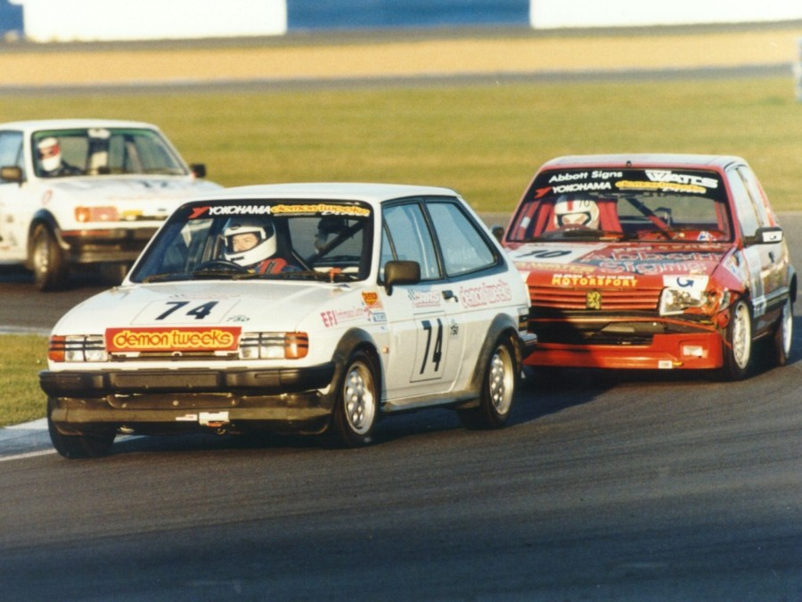 Steve Gordon, Fiesta XR2, Stock Hatch Championship 2000